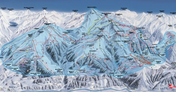 Changes to the 4-Vallées area lift pass.